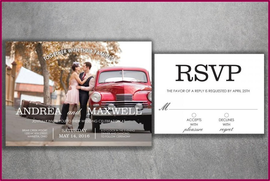 Save The Date Wedding Invitations Cheap