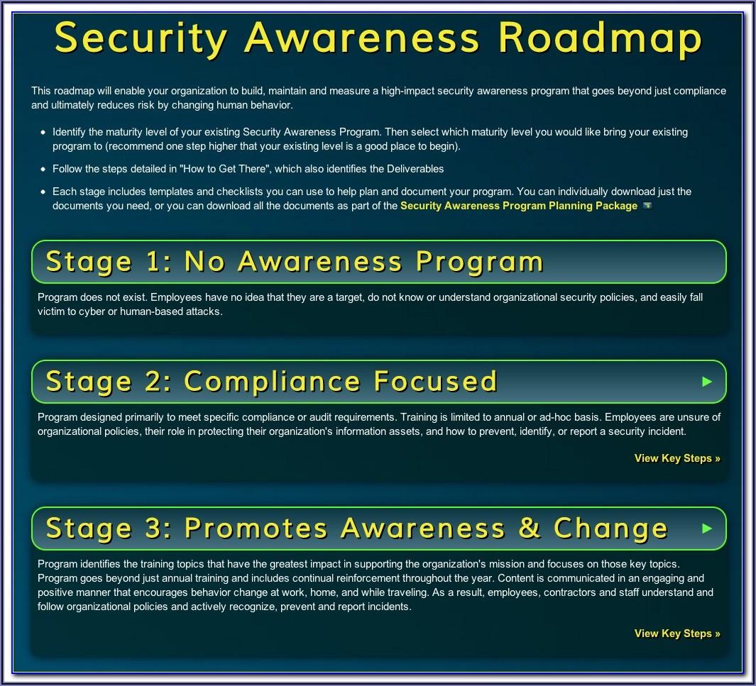 Security Awareness Program Template