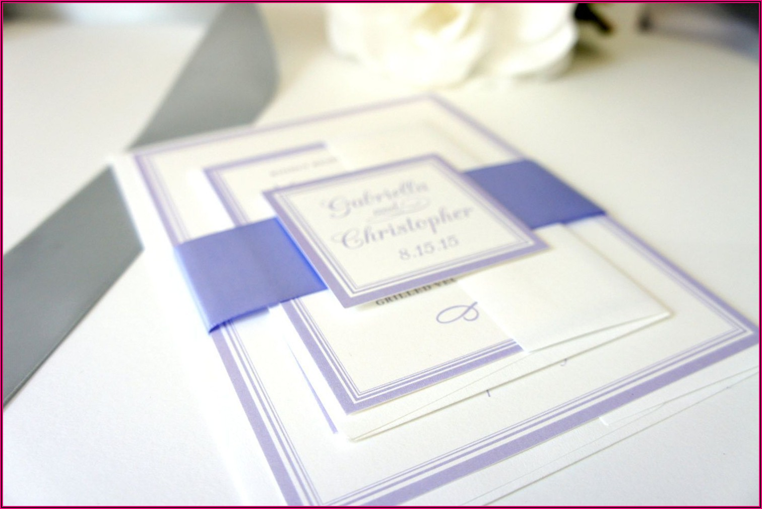 Simple Elegant Wedding Invitations Cheap