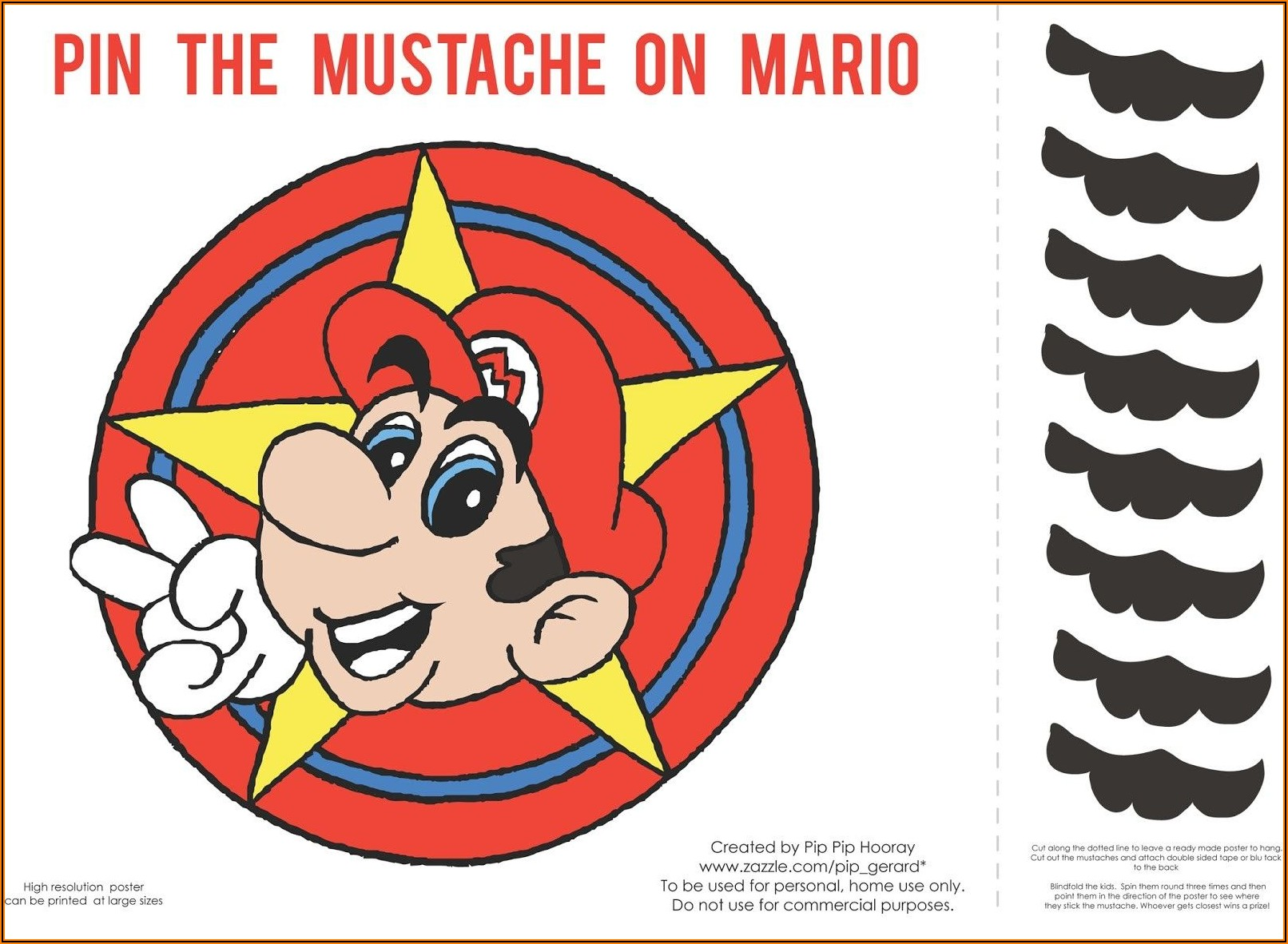 Super Mario Bros Birthday Invitations Free
