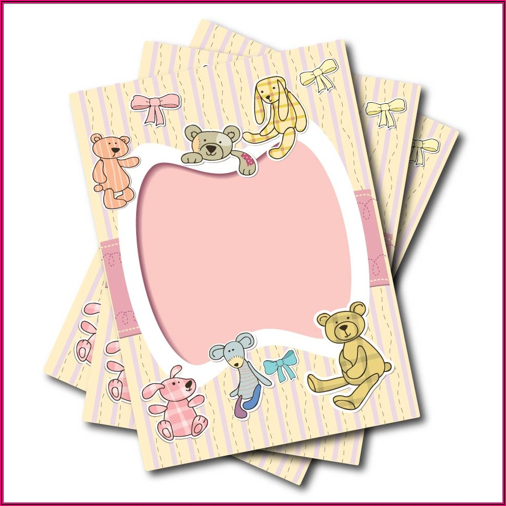 Teddy Bear Party Invitations Templates