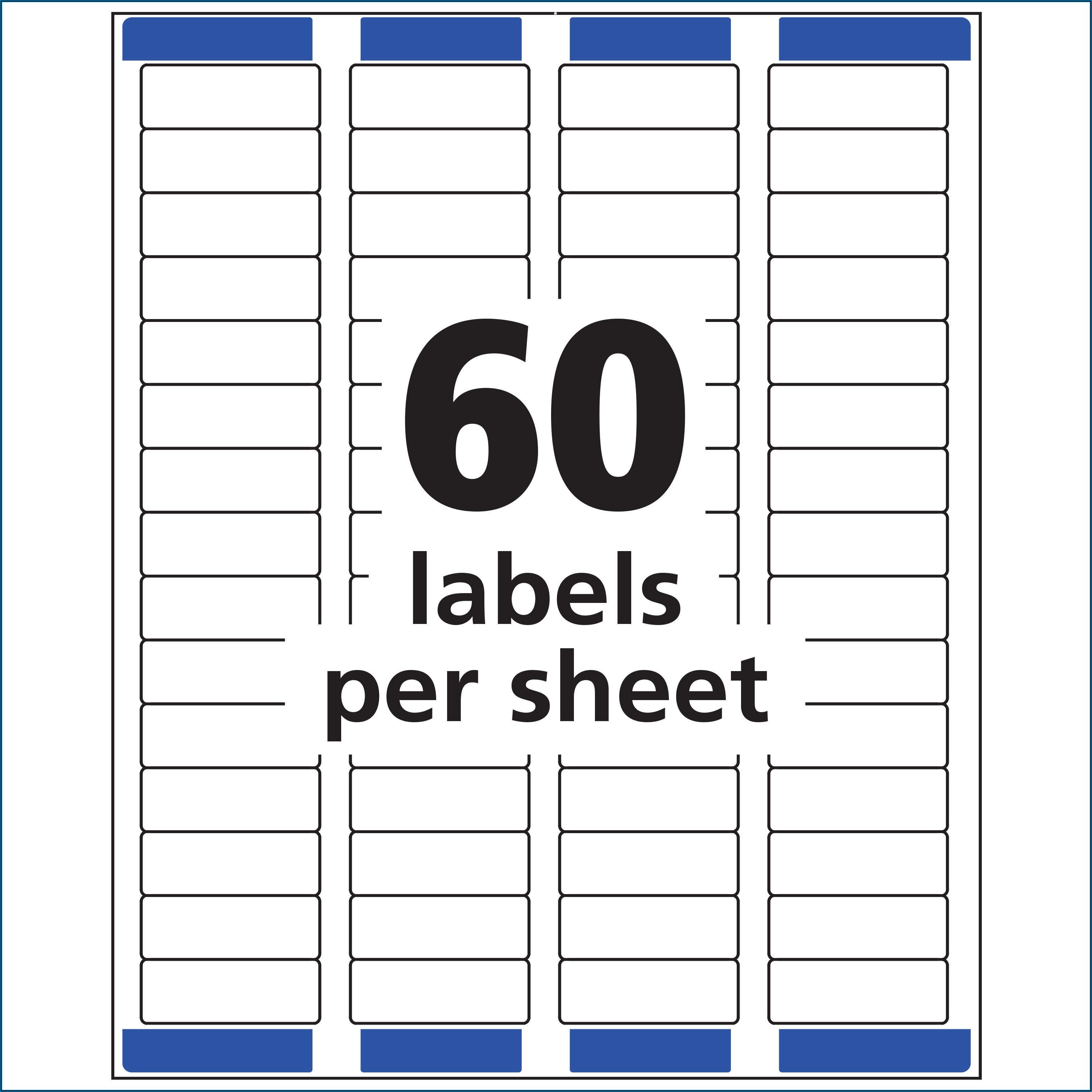 Templates For Avery Labels 22807