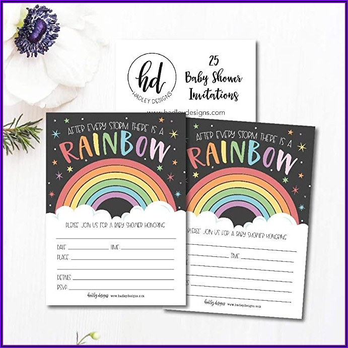 Twin Girl Baby Sprinkle Invitations