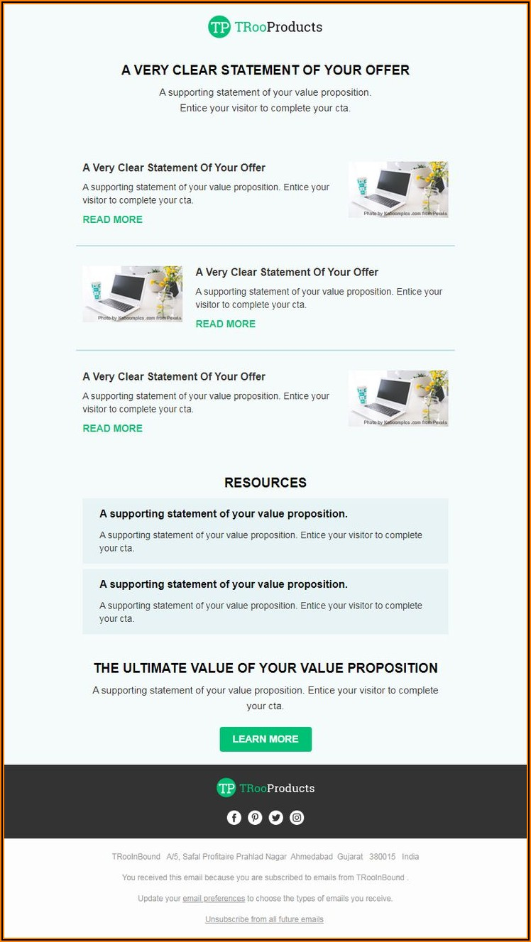 Webinar Invitation Template Email