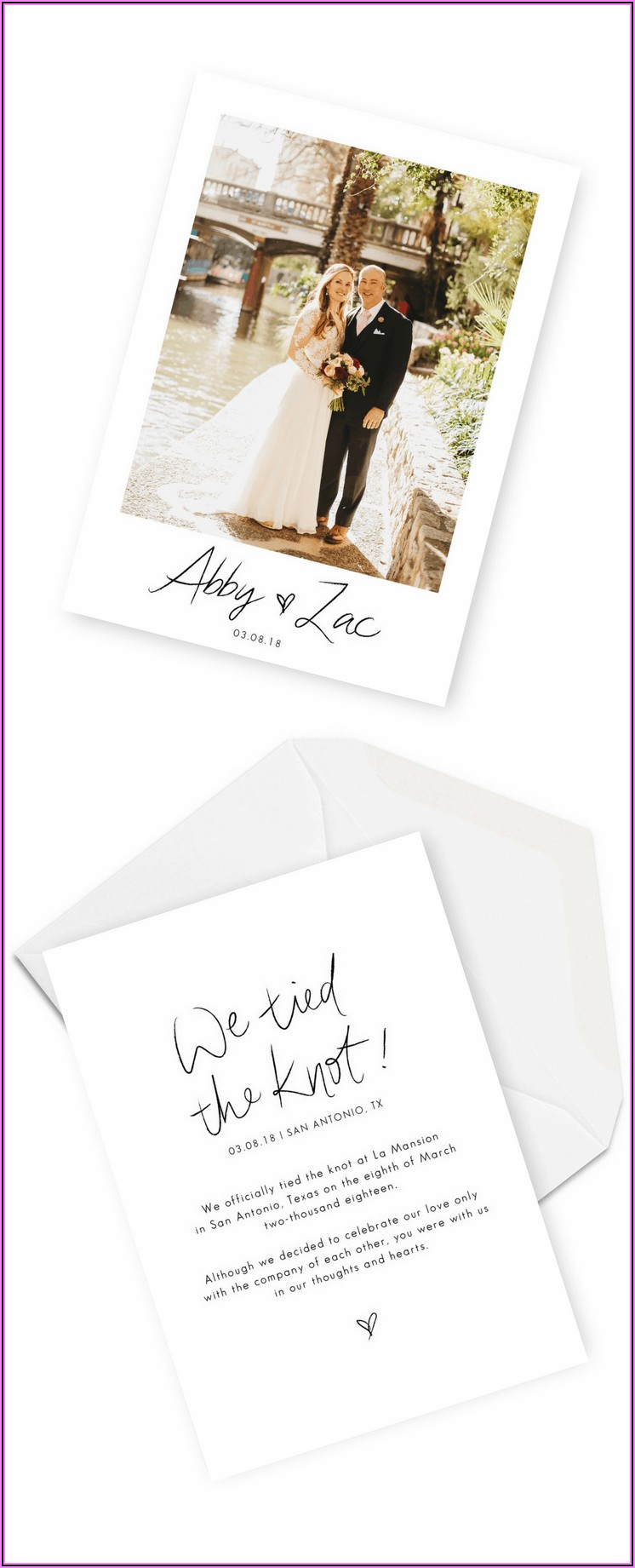 Wedding Announcement Wording Ideas