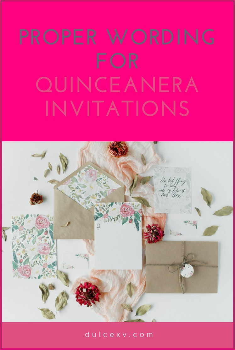 Wedding Invitation Wording Spanish And English