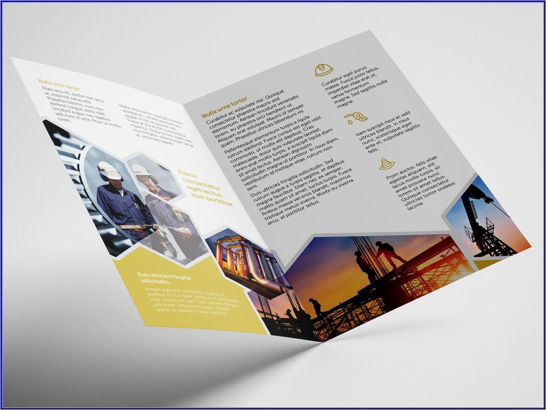 11x17 Half Fold Brochure Template Word