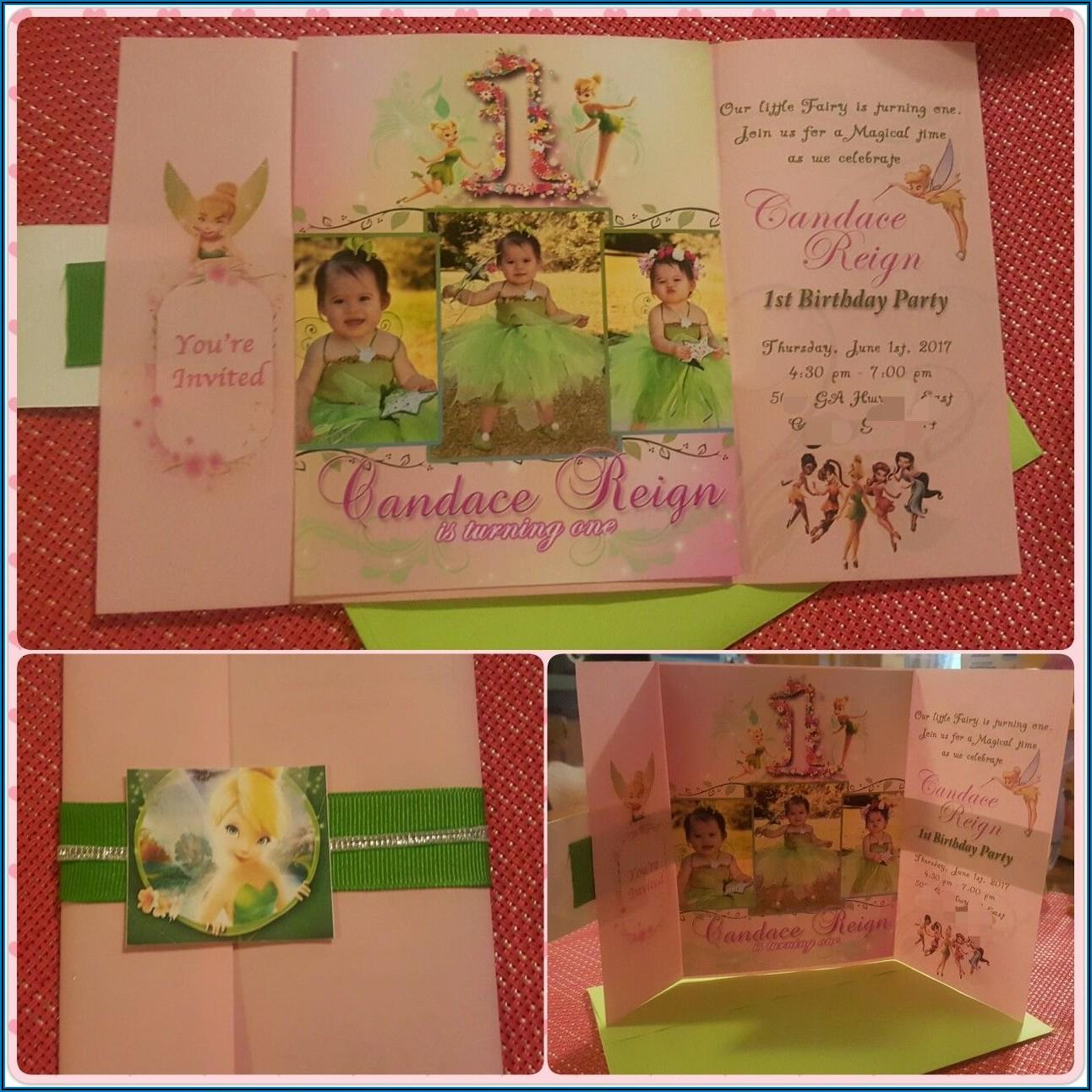 1st Birthday Invitation Card Design For Baby Girl