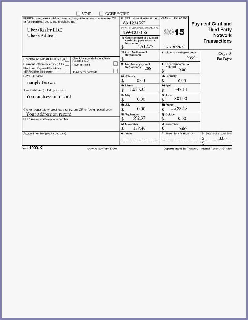 2017 Form 1099 Pdf Fillable