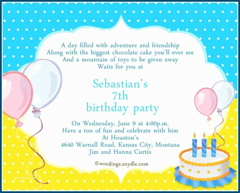 60th Birthday Invitation Samples