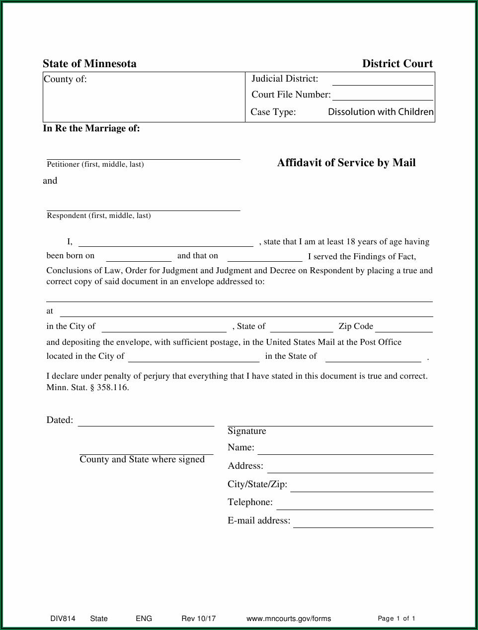 Affidavit Form Zimbabwe Pdf Free Download