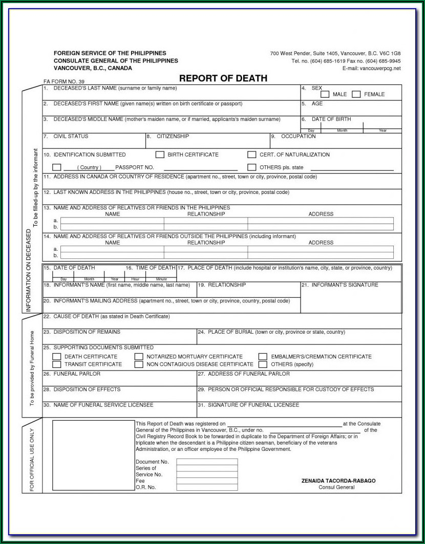 Alberta Birth Certificate Application Form Online