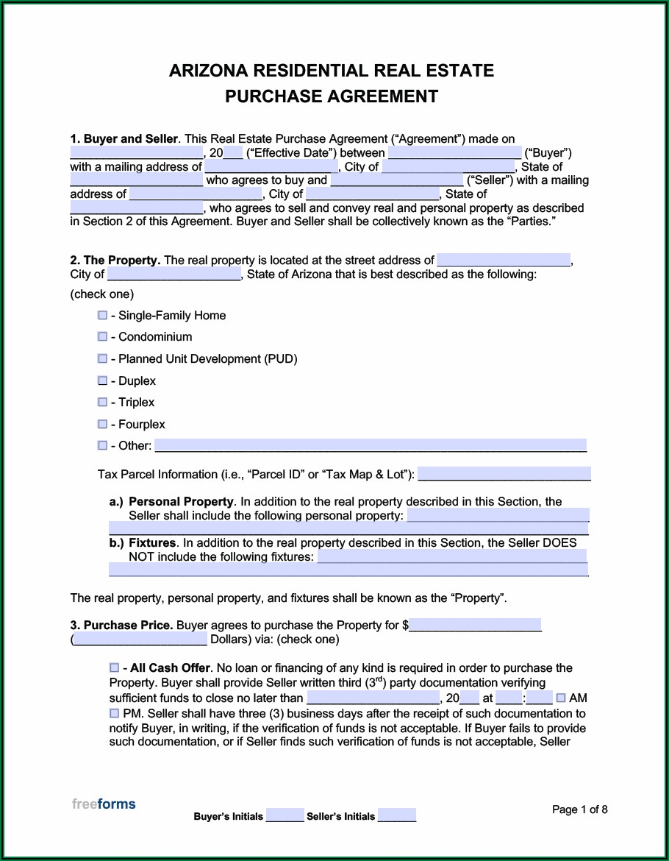 Arizona Real Estate Forms Online