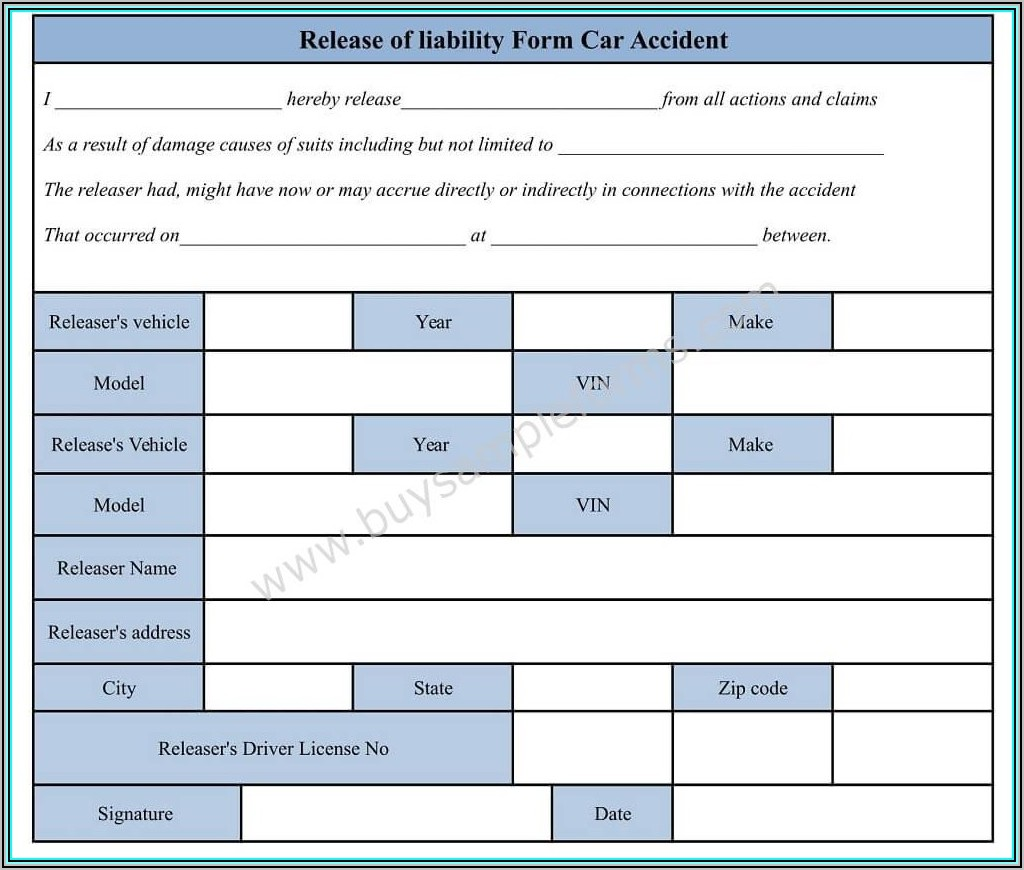 Auto Accident Demand Letter Template