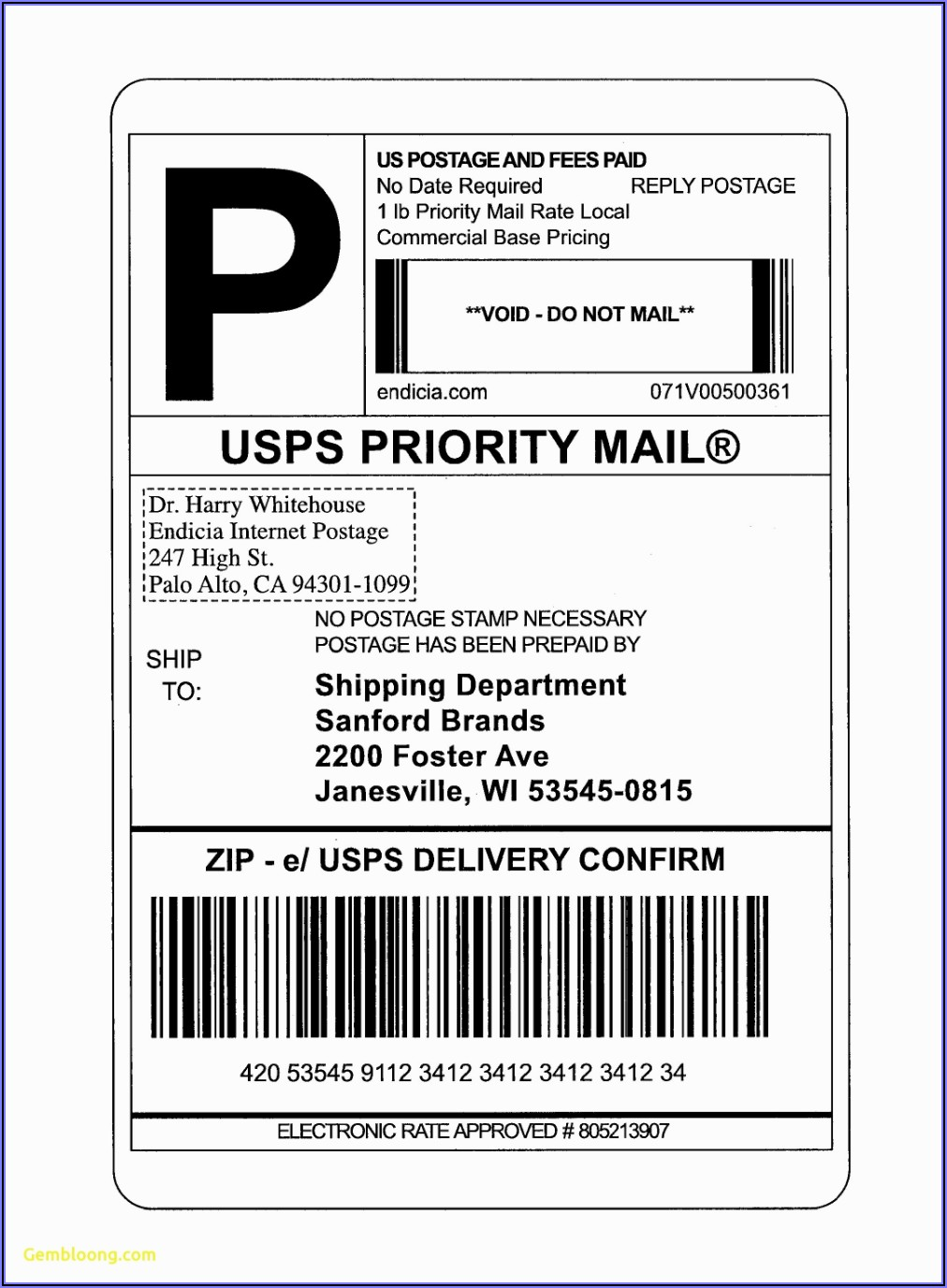 Avery Mailing Label Templates