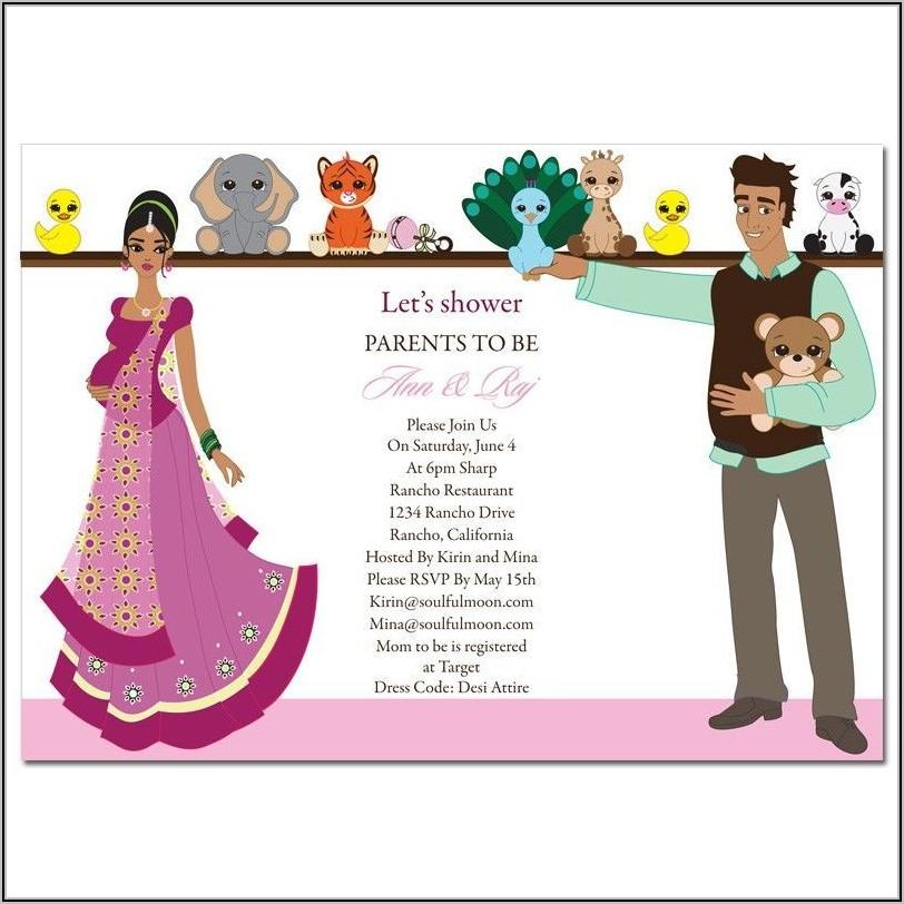 Baby Shower Invitation Templates India