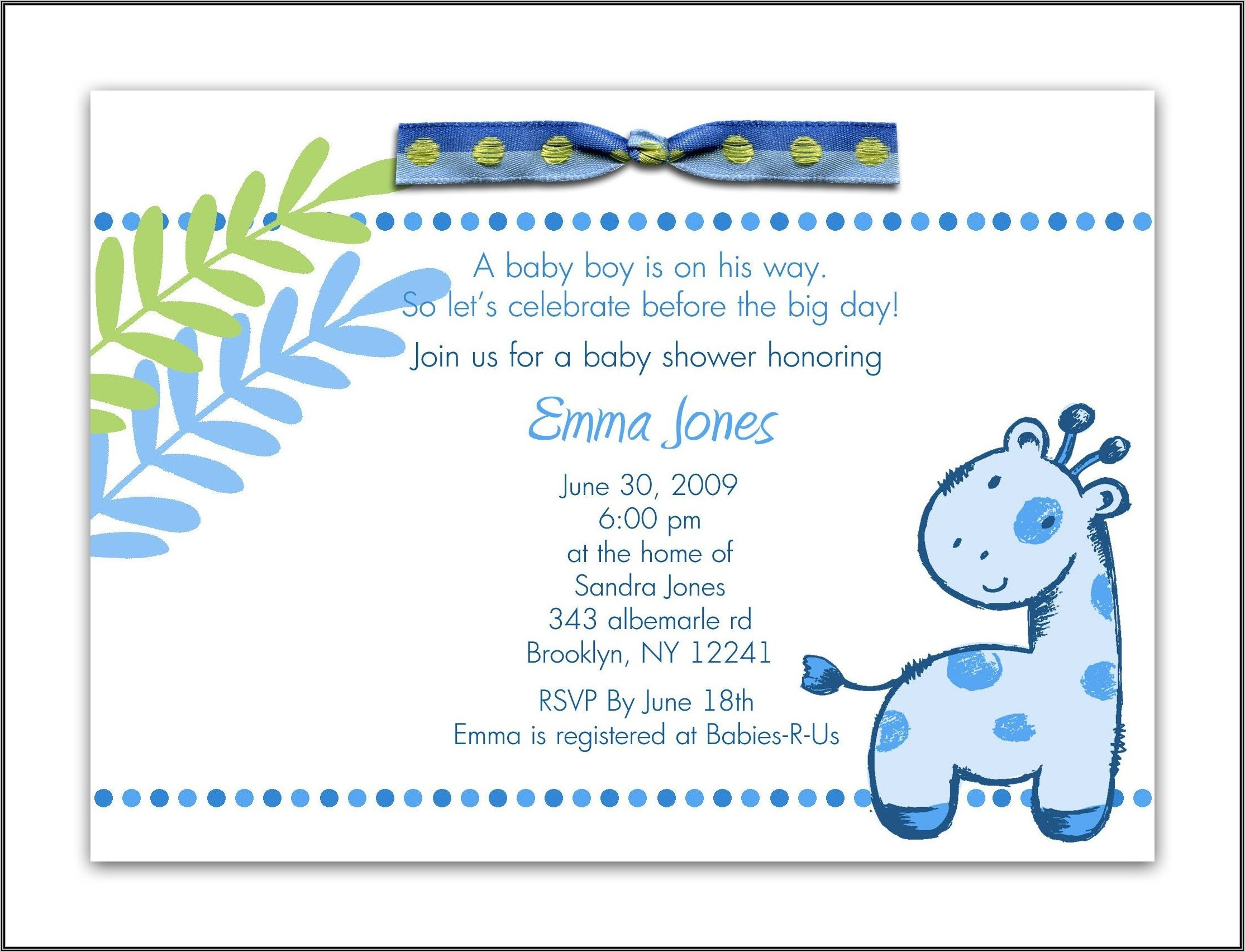 Baby Shower Welcome Sign Templates Free Printable