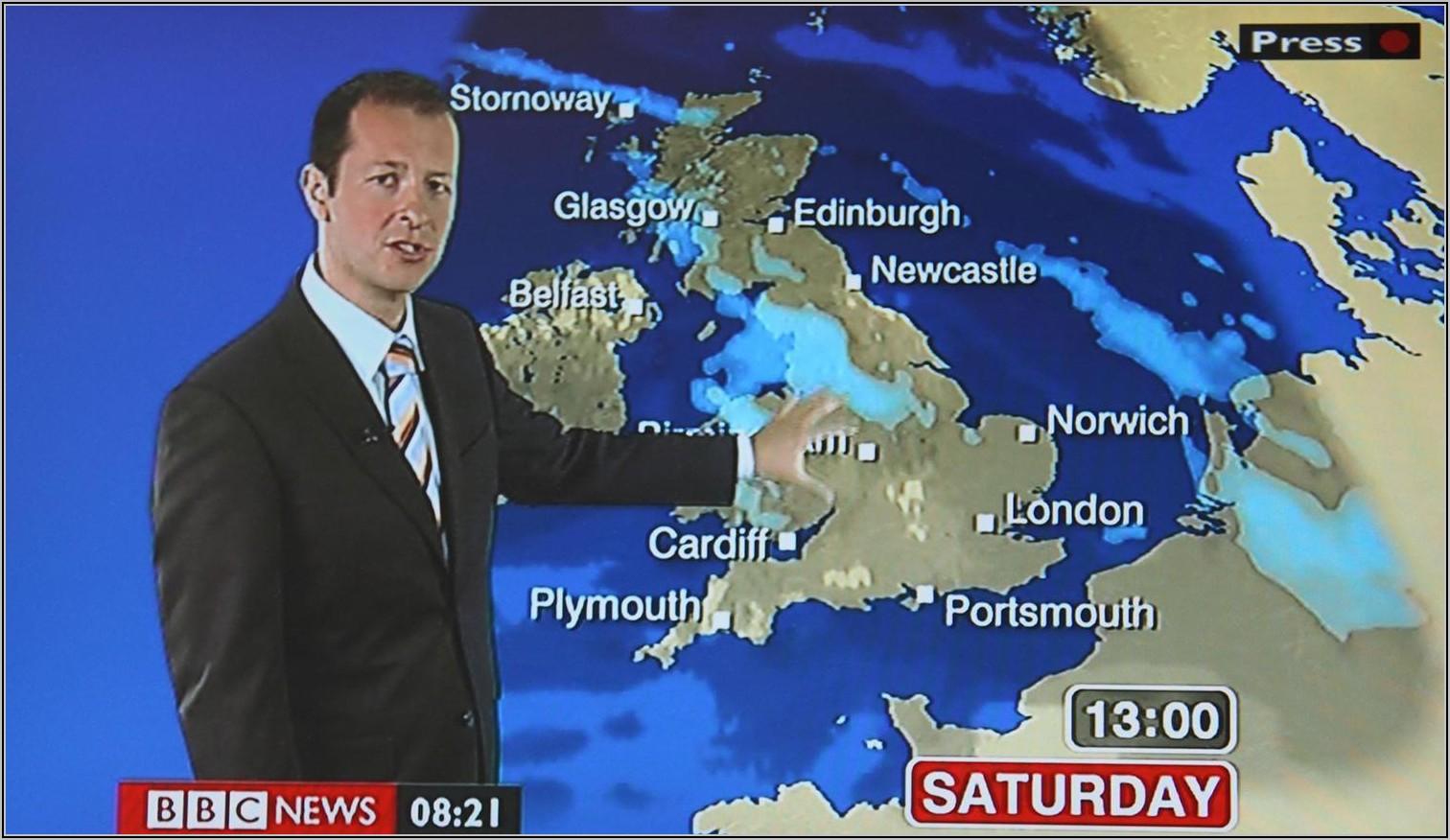 Bbc Europe Weather Forecast Map