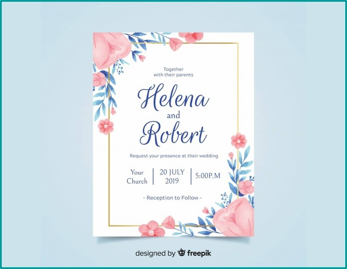 Birthday Invitation Card After Effects Template Free Download