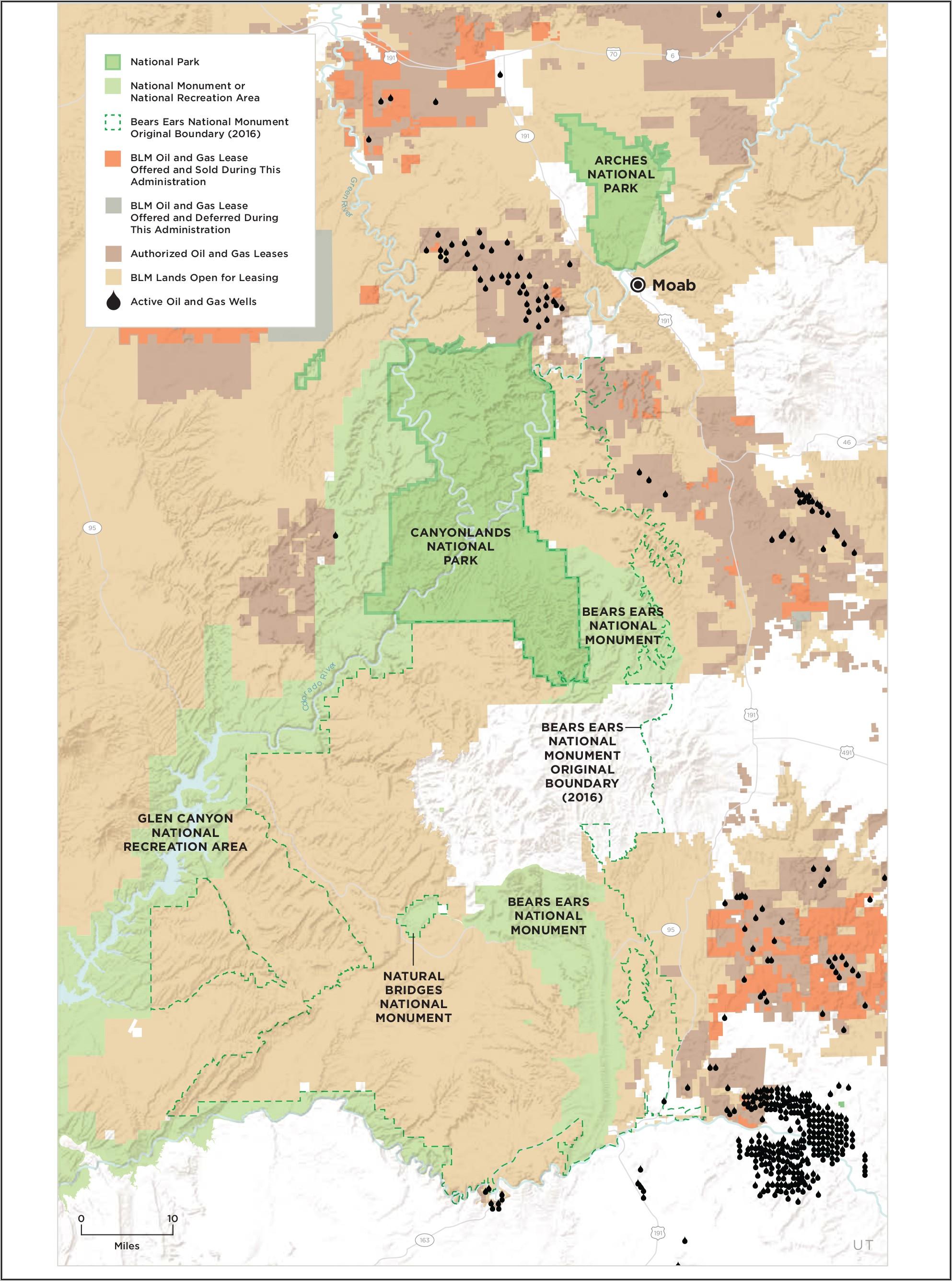 Canyonlands National Park Trail Map Pdf