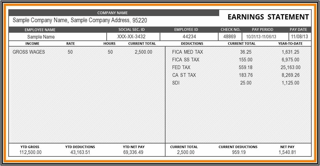 Car Loan Document Template