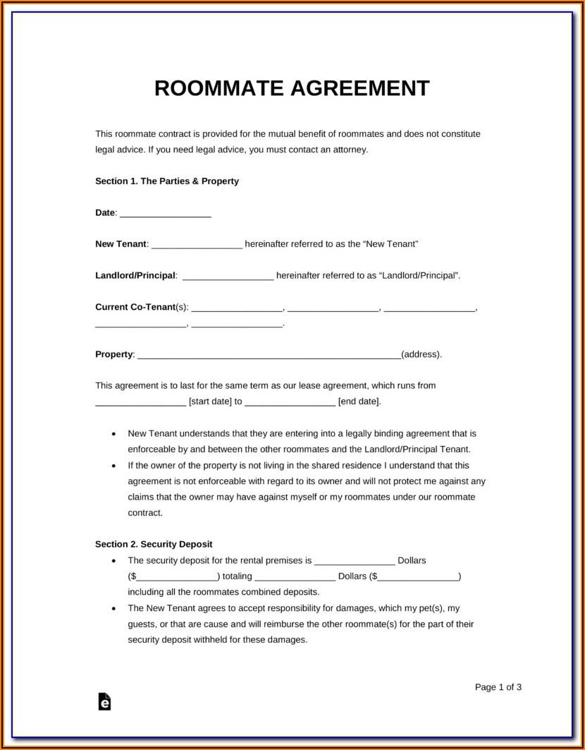 Car Rental Agreement Template Free Download