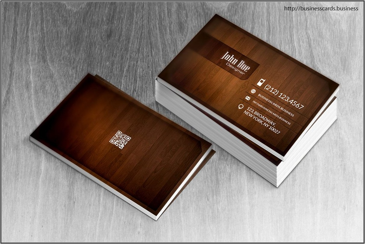 Carpentry Business Card Templates