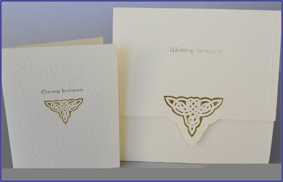 Celtic Wedding Invitations Templates