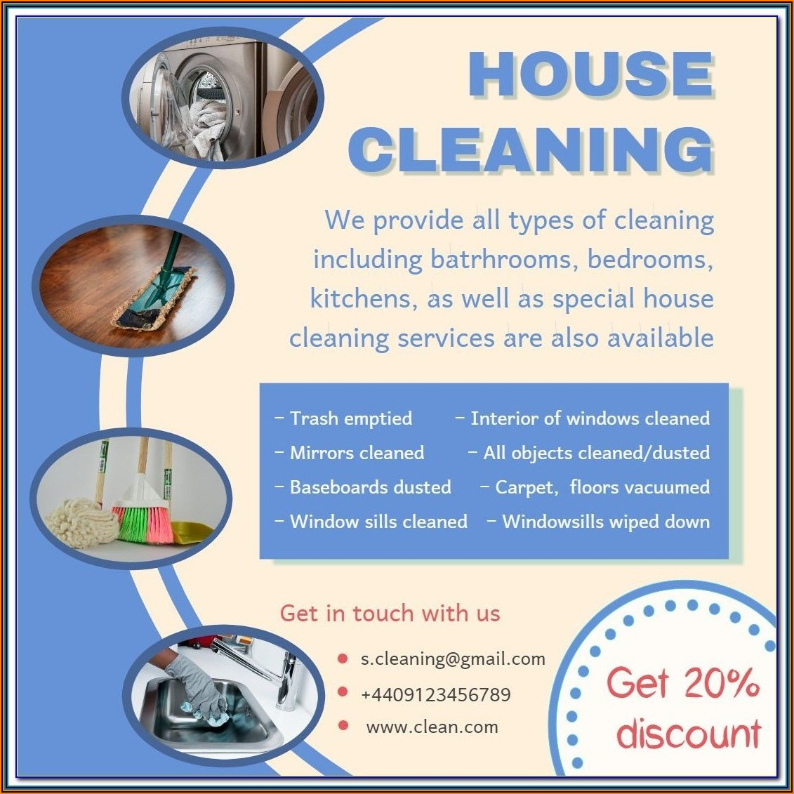 Cleaning Services Proposal Samples Free