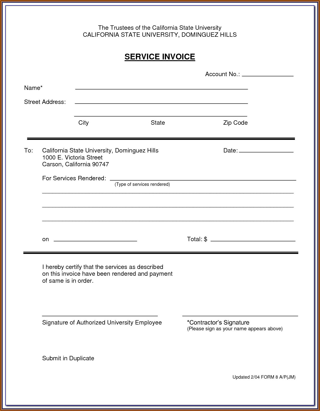 Consulting Services Agreement Template Australia
