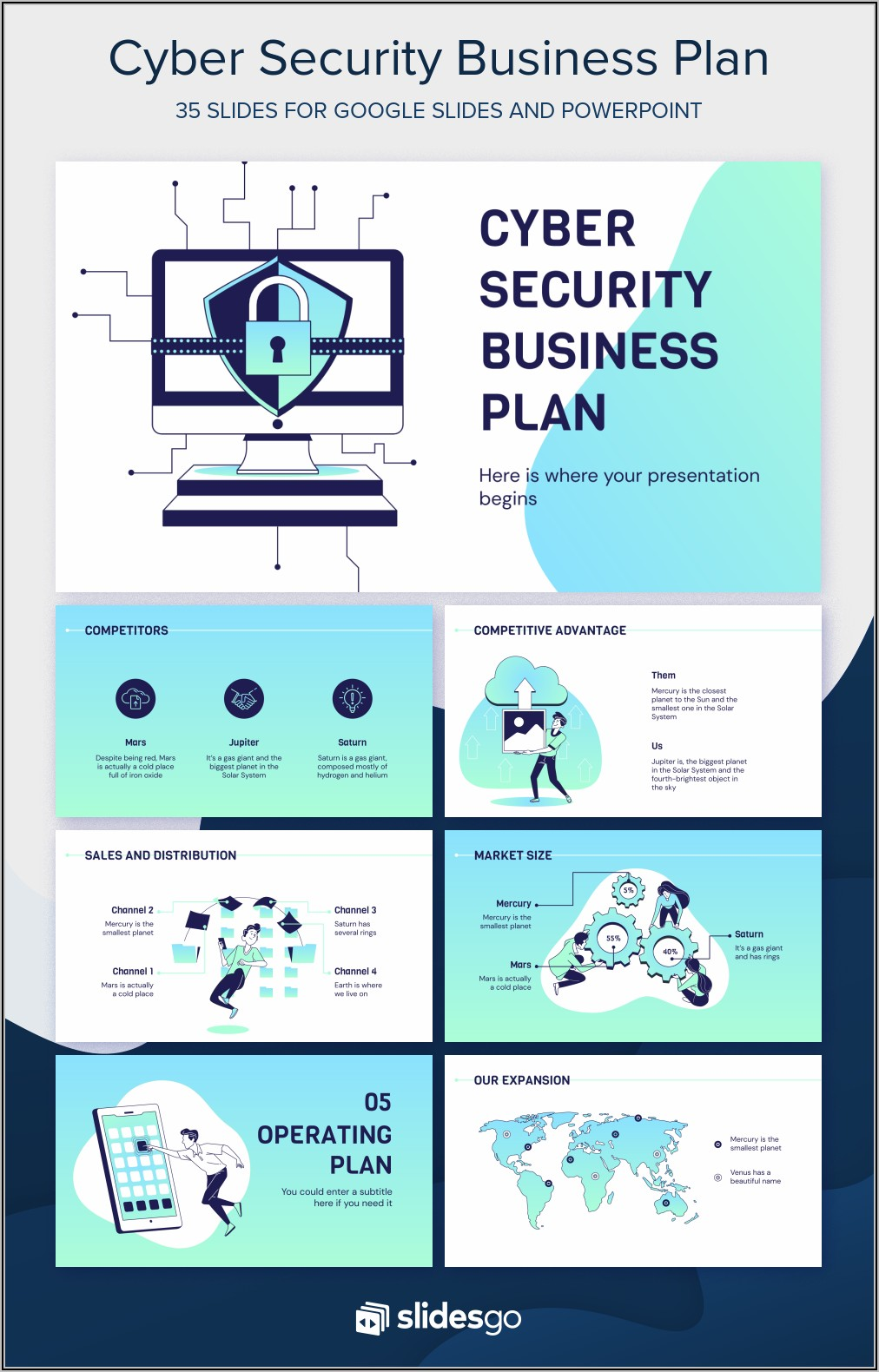 Cyber Security Business Plan Template