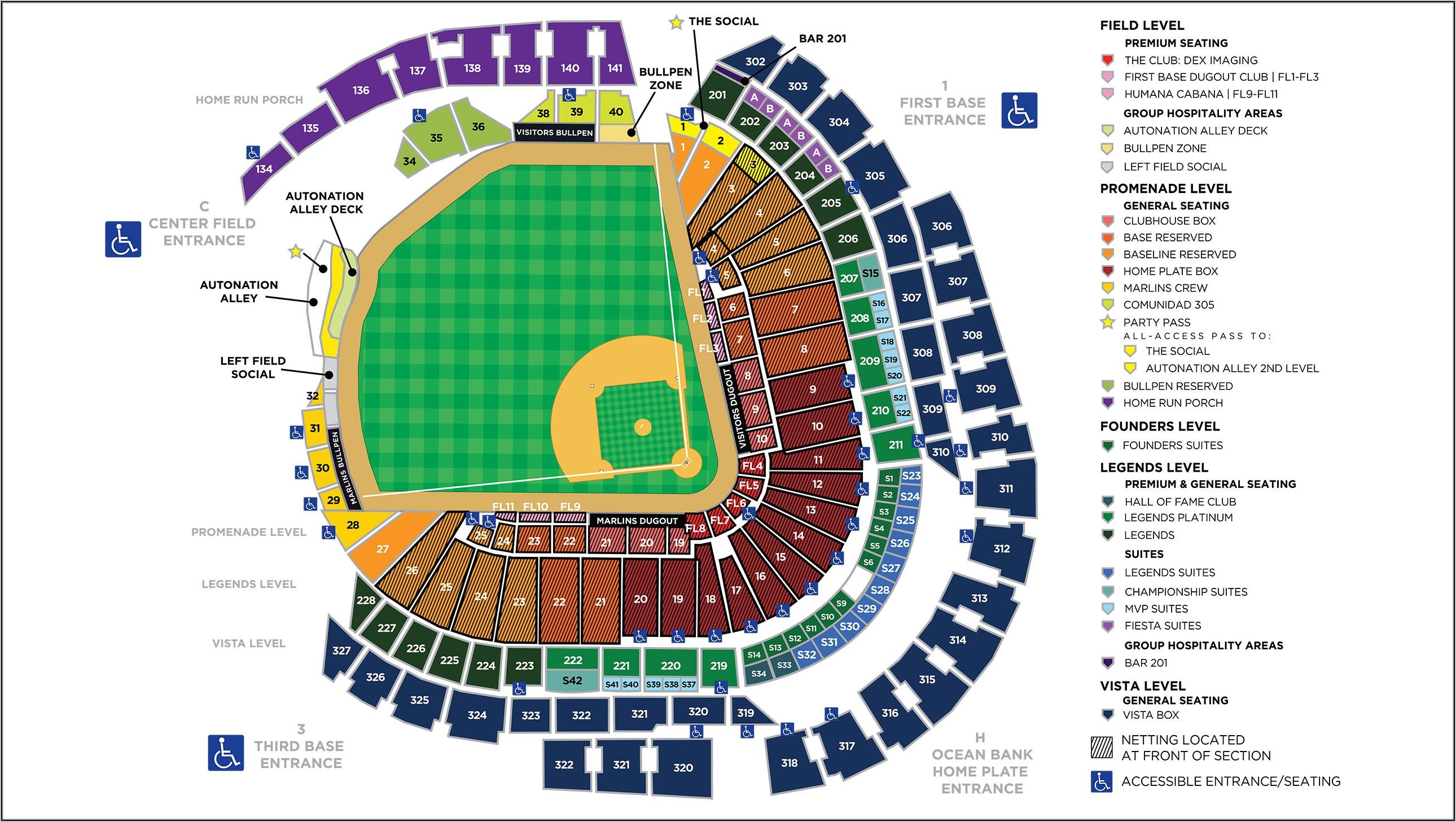 Dodger Stadium Seating Map 2020