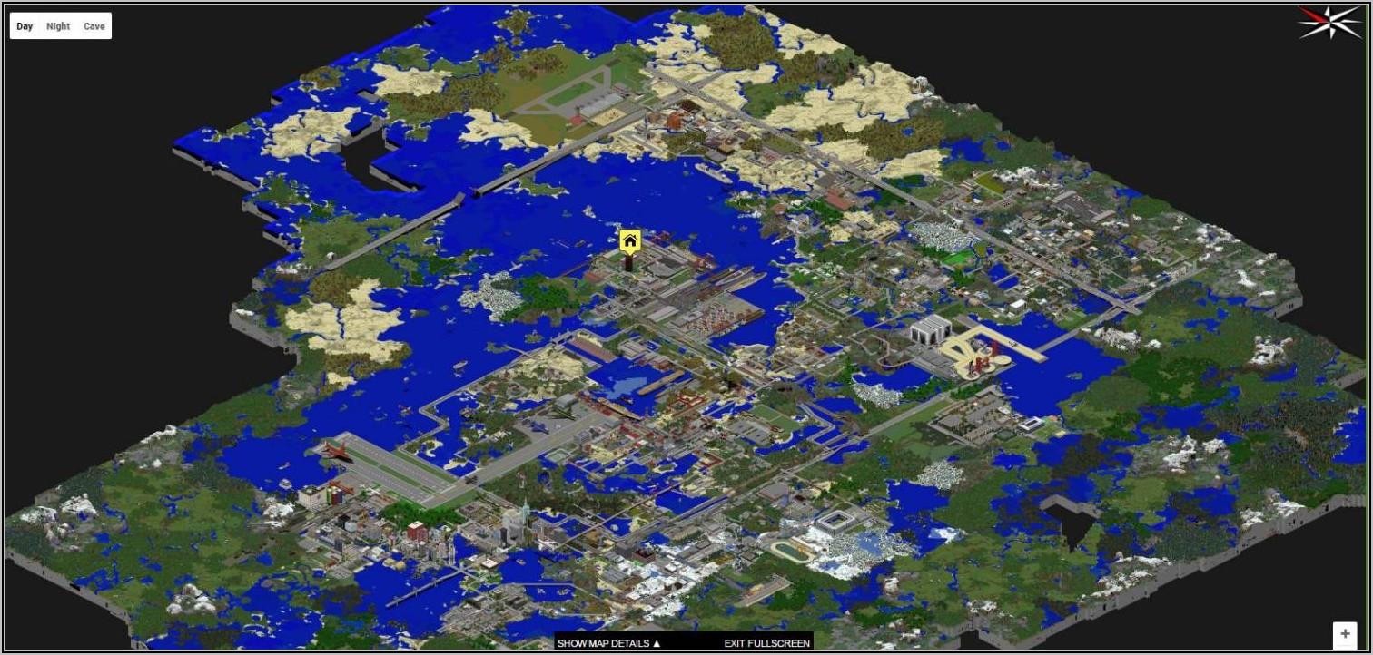 Download Map Minecraft Big City