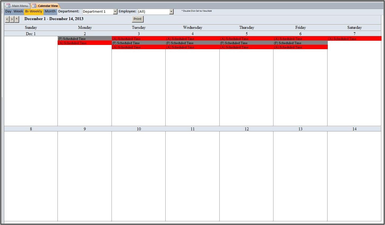 Employee Pto Tracker Template