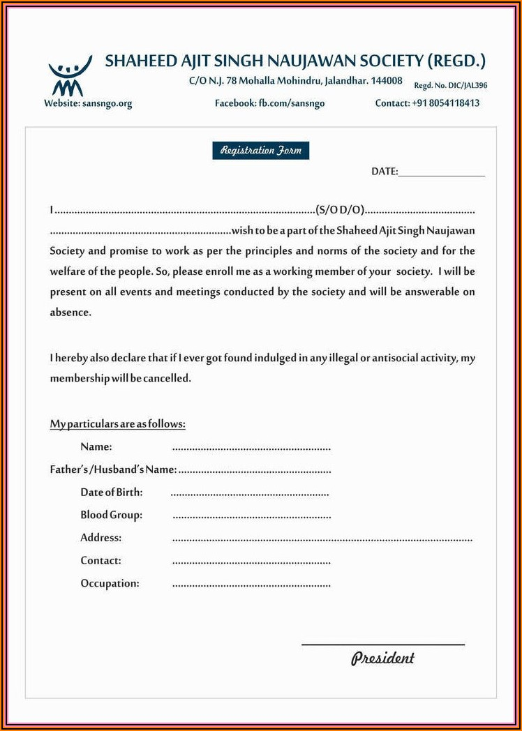 Extension Rental Agreement Forms