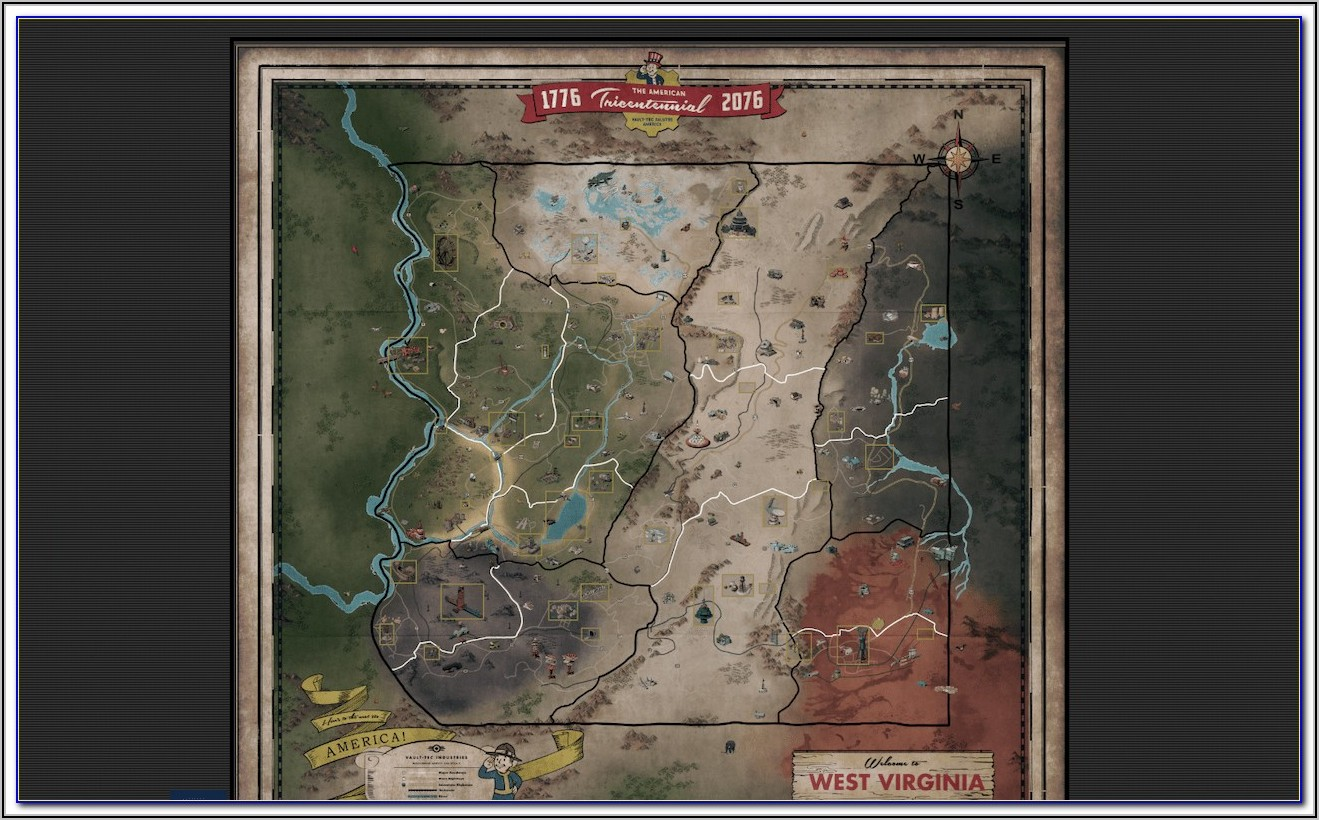 Fallout 76 Interactive Map Ban