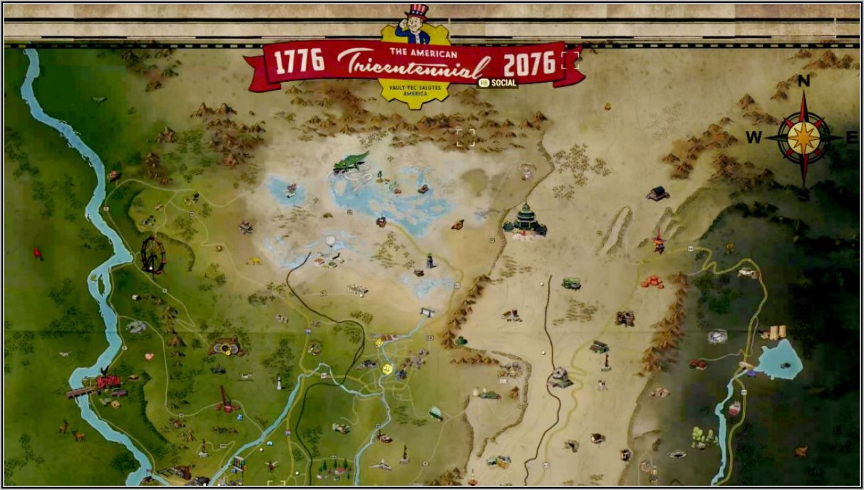 Fallout 76 Interactive Map Resources