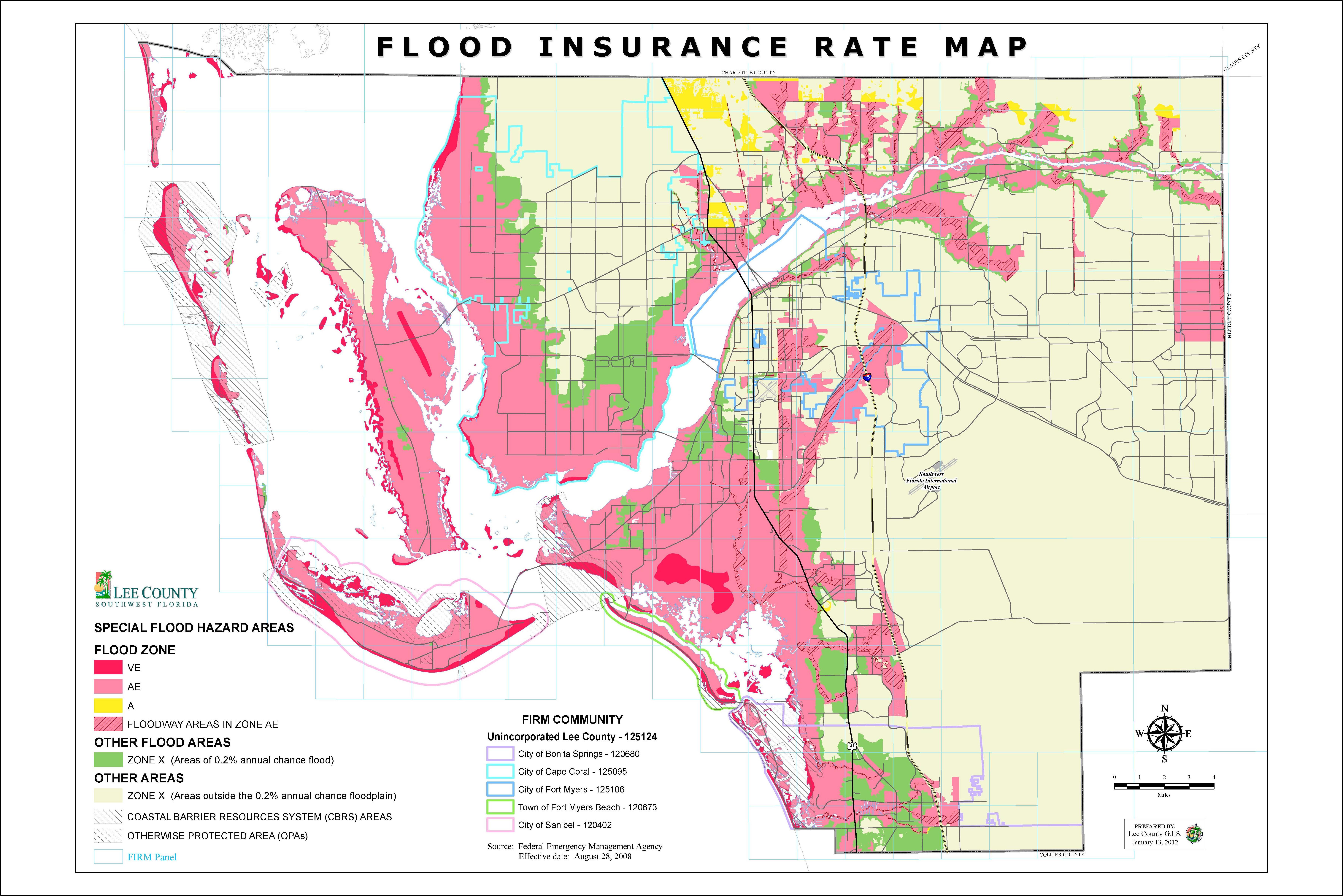 Fema Floodplain Maps Gis