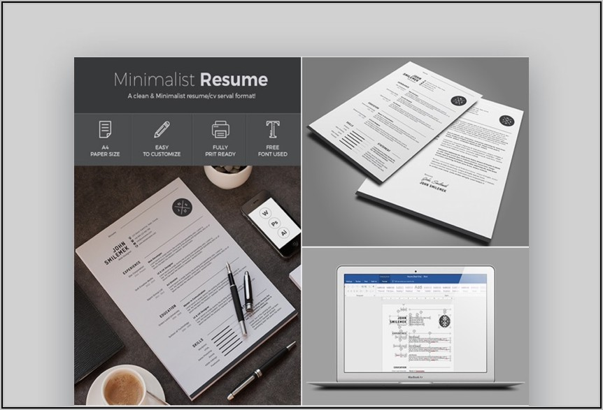 Fillable Resume Templates Word
