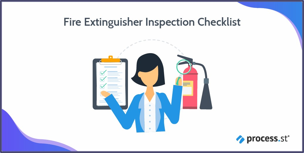 Fire Extinguisher Inspection Template