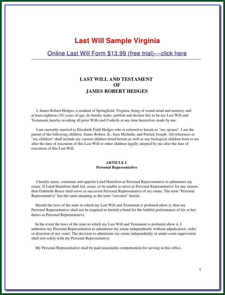 Florida Irrevocable Trust Form