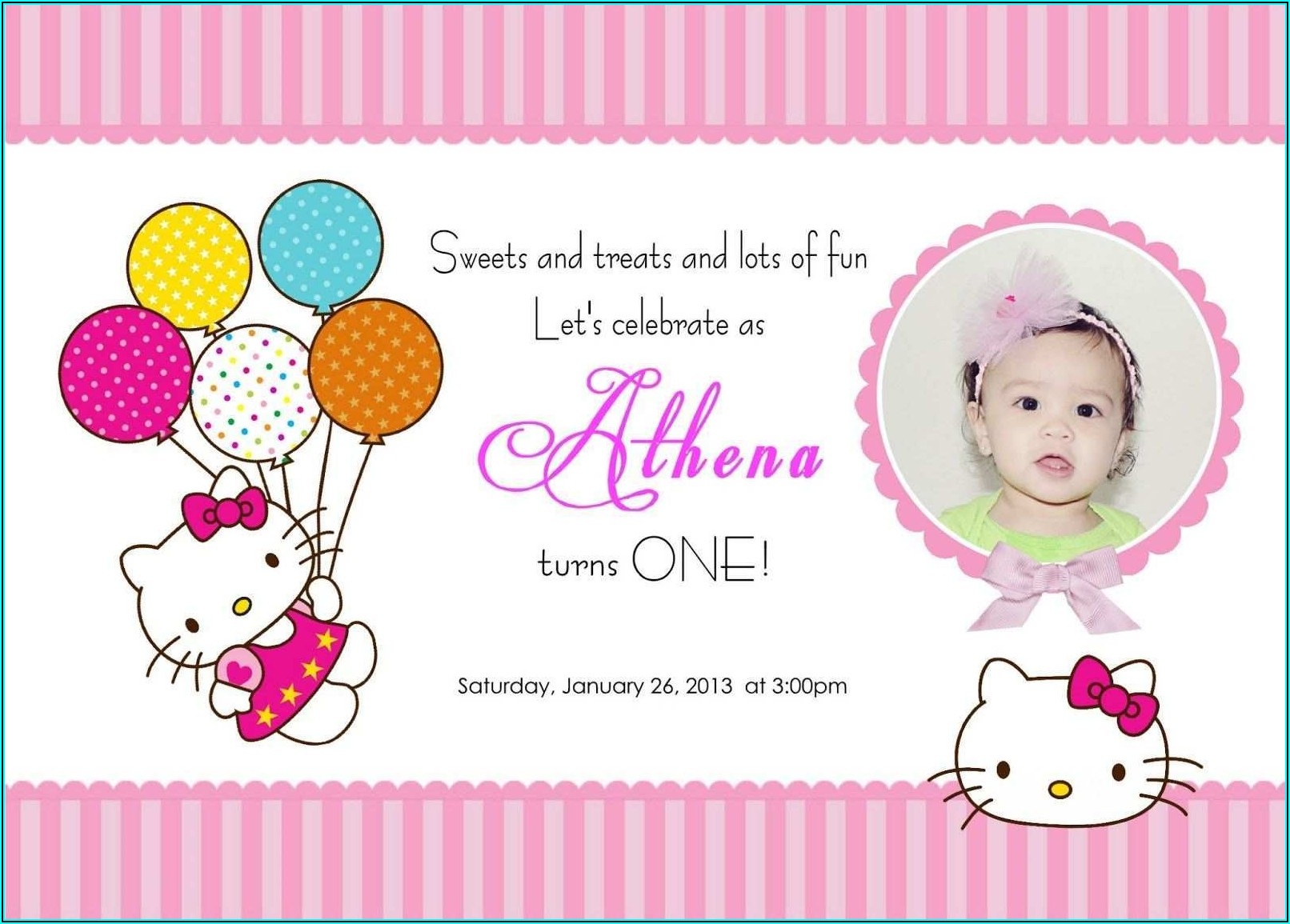 Free Birthday Invitation Card Maker