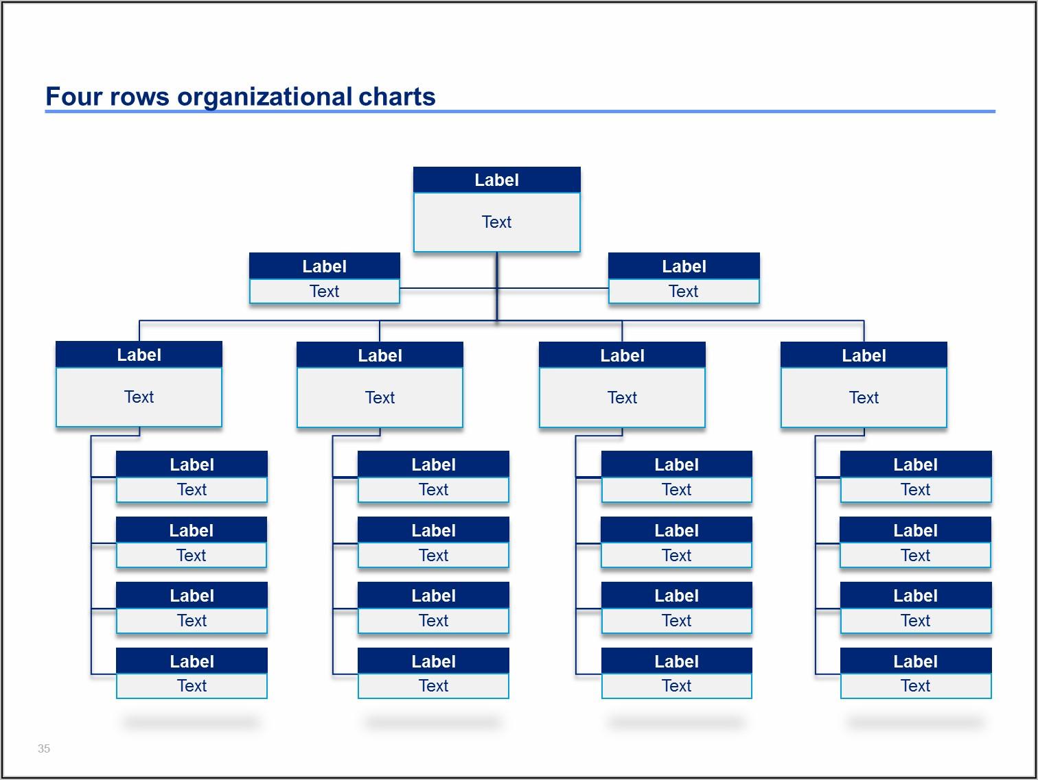 Free Business Organization Chart Template