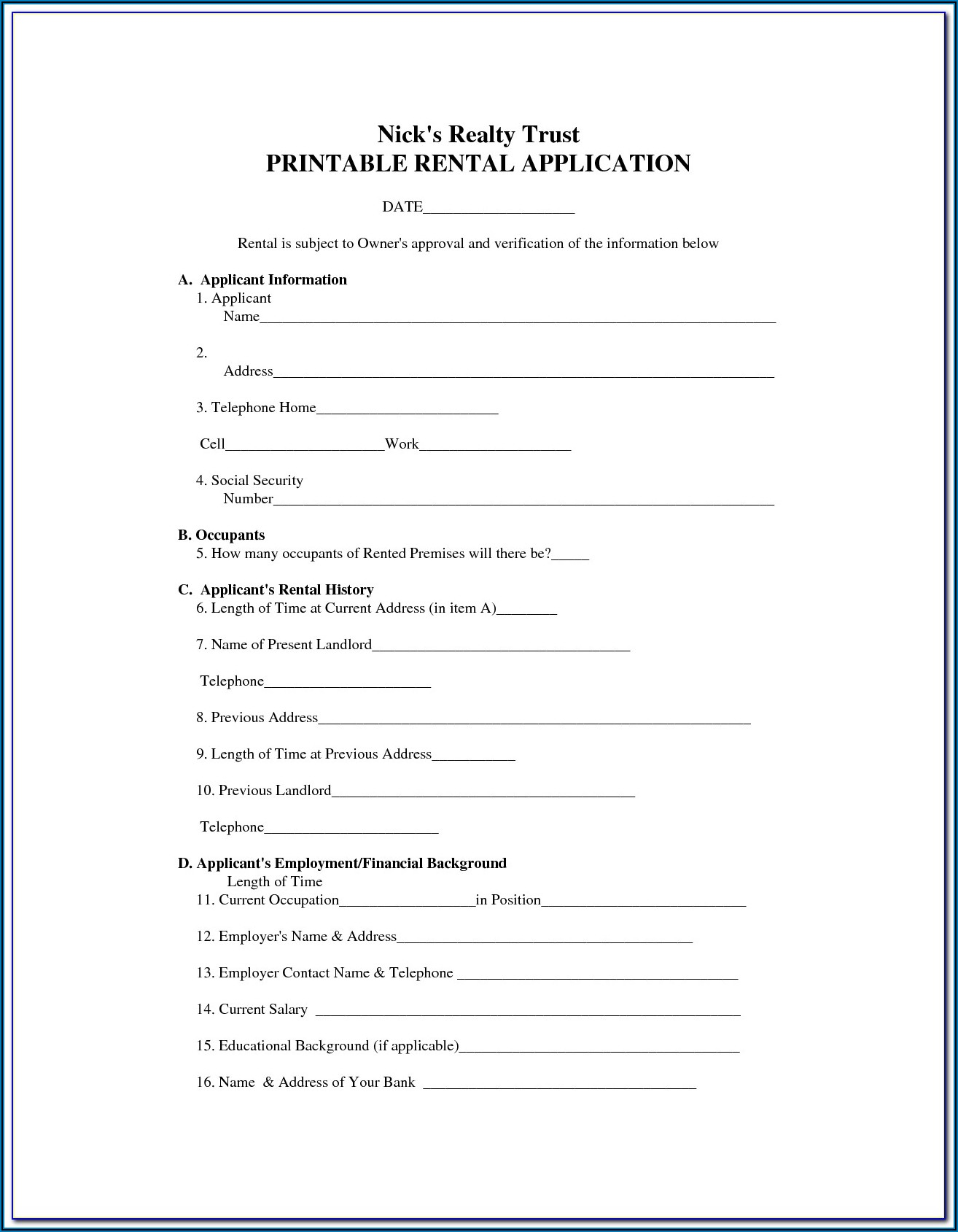 Free Commercial Lease Agreement Nsw Pdf