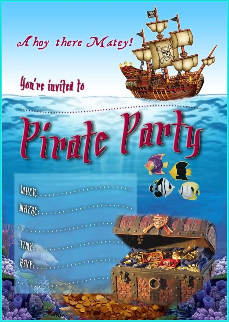 Free Download Editable Birthday Invitation Cards