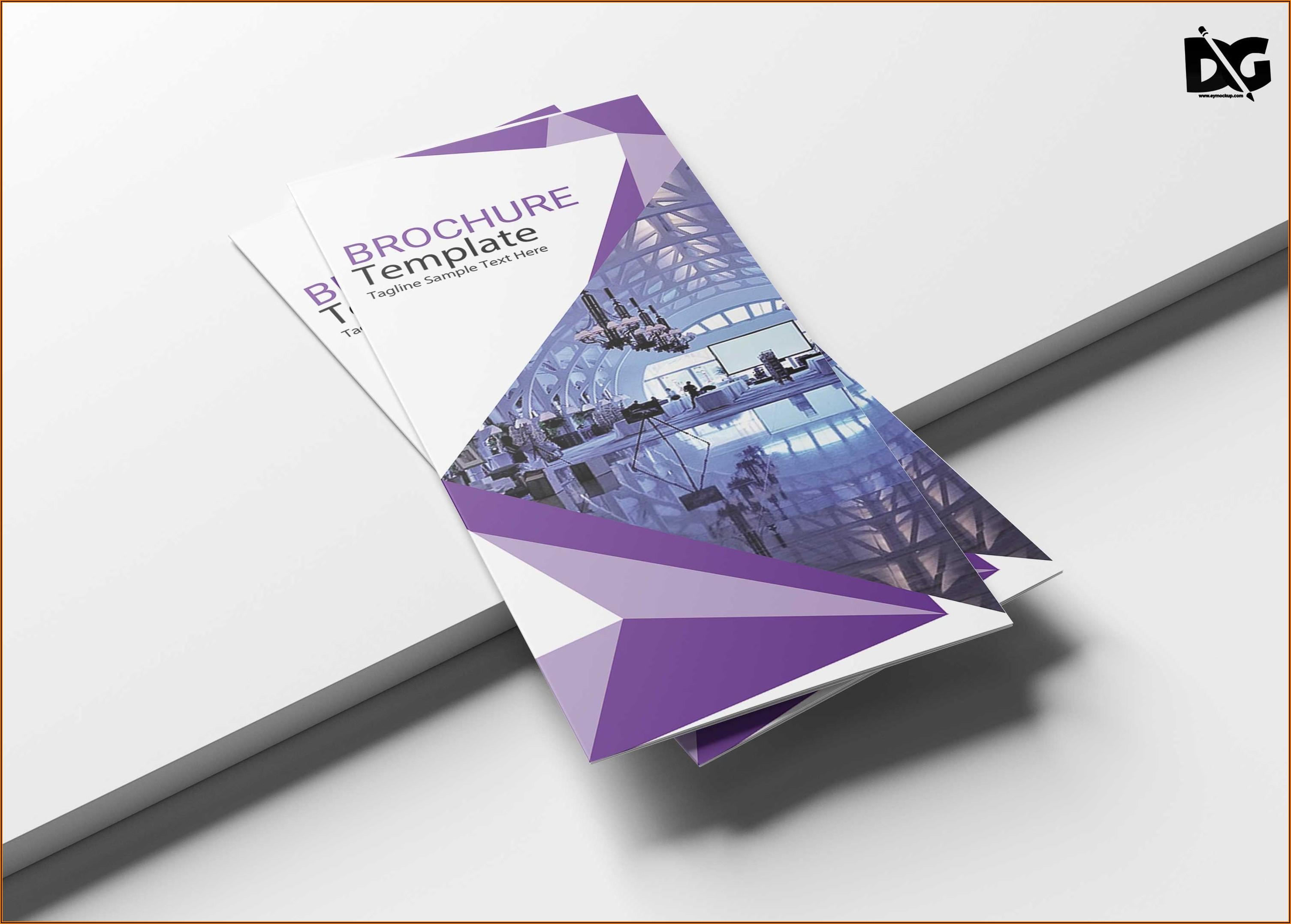 Free Download Template Tri Fold Brochure