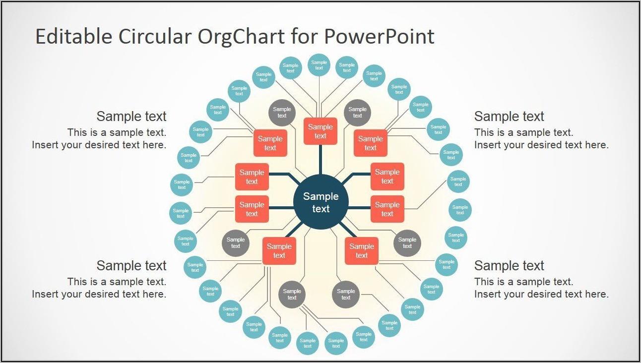 Free Editable Organizational Chart Template