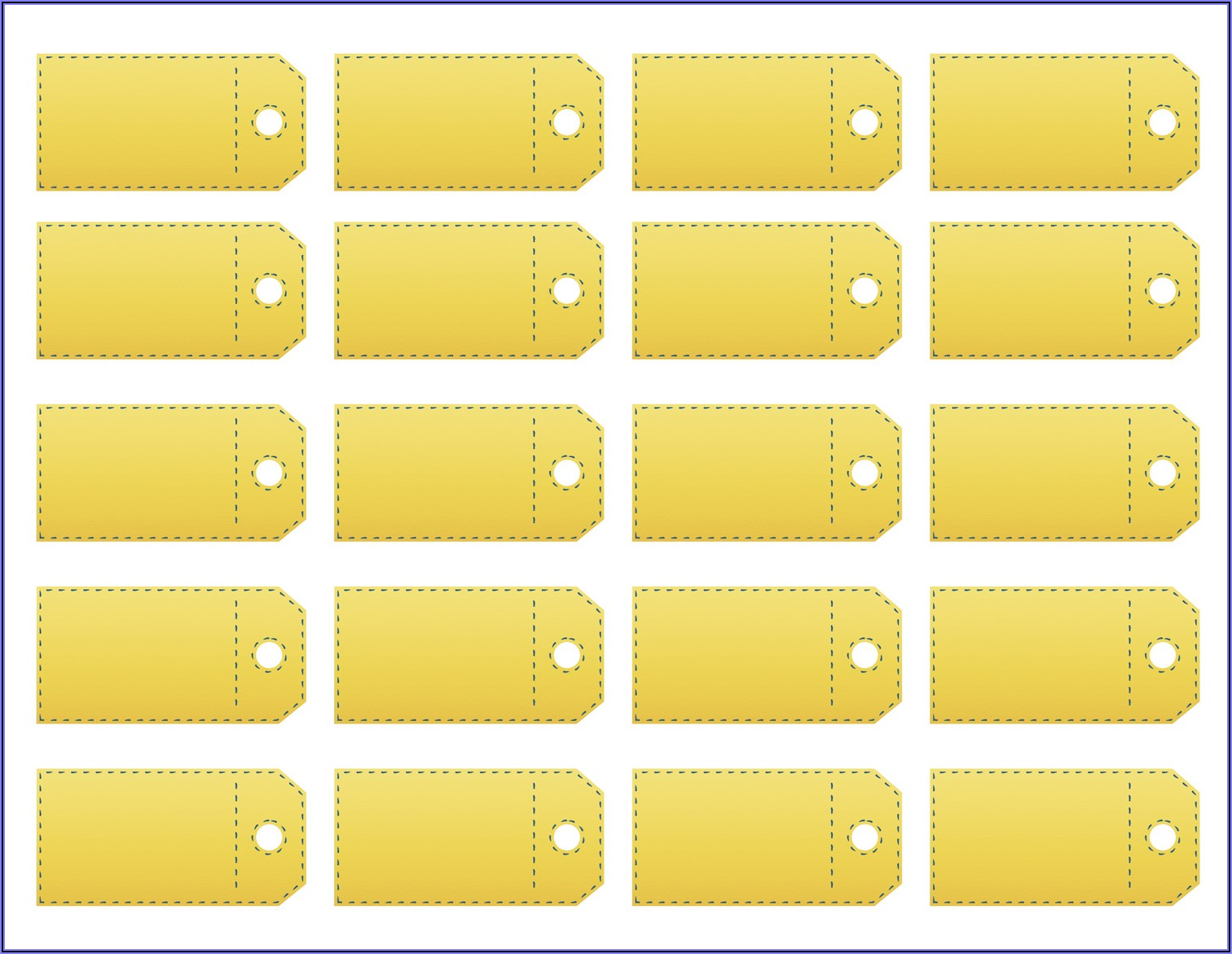 Free Printable Price Tags Labels Template