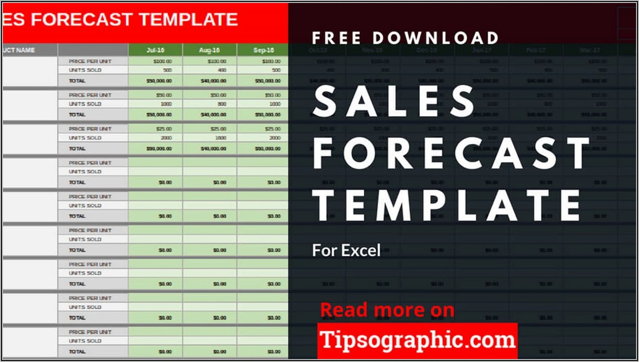 Free Sales Forecast Template