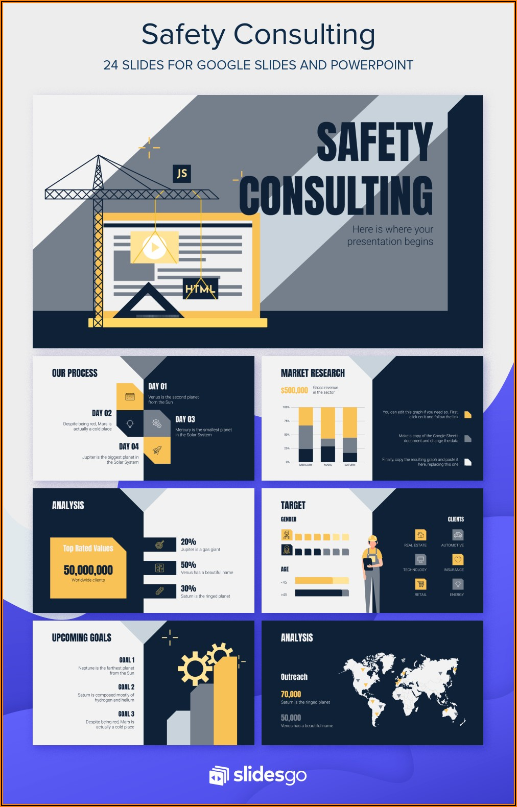 Free Workplace Safety Powerpoint Templates